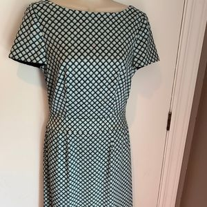 Tory Burch silk geometric print dress